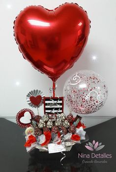 Diy Birthday, Birthday Gifts, Birthday Surprise For Husband, Valentine Day Gifts, Valentines, Balloon Gift, Balloon Decorations Party, Chocolate Bouquet, Candy Bouquet