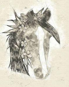Horse Sketch - Art Print - 9.5 x 12 / Semi-Matte Photo Paper
