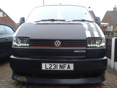 VW T4 - golf GTi inspired grill