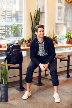 Fresh Starts: Bryce Thompson wears GapFit gear for his morning workout, followed by brunch in NYC. #styldby