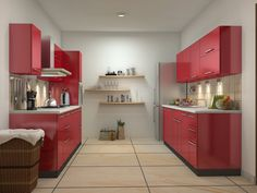 1000 images about parallel shaped modular kitchen designs for Parallel platform kitchen designs