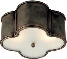 Circa Lighting 'Basil Flush Mount'. One of the prettiest flush mounts made , have used it for several clients!