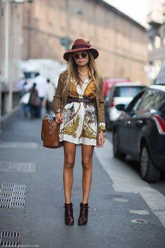 AOP dress