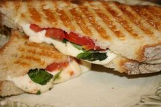 Panini sandwiches are a wonderful simple to make Italian sandwiches. Panini (small bread In Italian) may be made with sliced artisan bread or a individual roll. If you ever had a grilled cheese you had a type of Panini!