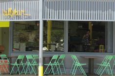 Billy Kart Kitchen: 1 Eric Cres, Annerley Mon-Fri 6:30-5; Sat-Sun  6:30-3 Licensed 3392 9275 owner is celeb chef Ben O'Donoghue (Surfing the menu) with wife Dee