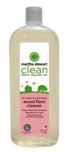 Martha Stewart Clean Wood Floor, 35 Fl. Oz bottle (Pack of 2) Martha Stewart http://www.amazon.com/dp/B002S0OHWW/ref=cm_sw_r_pi_dp_-aiZwb03EW4WE