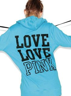 This says it all LOVE LOVE PINK line from Victorias Secret  ulainouye