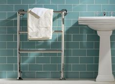 Large glass tiles - for the cloakroom?