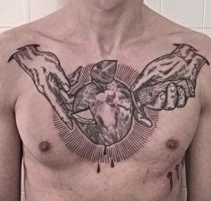 #chest #tattoo #chesttattoo