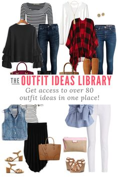 Need Outfit Ideas? Sign Up to Get Access to the Outfit Ideas Library