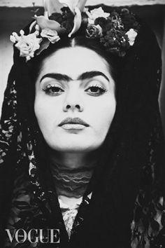 PhotoVogue, frida kahlo inspired