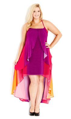 4a5e2b8ea2731 City Chic - DRESS DRAPE GODDESS - Women s Plus Size Fashion  citychic   citychiconline