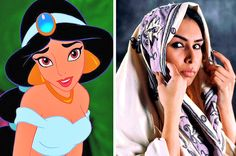 What would your favorite Disney princesses have actually looked like IRL?