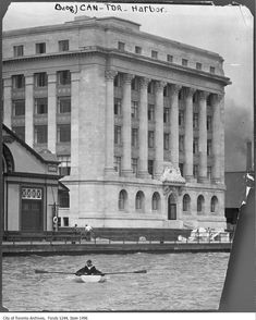 For this week's history post I decided to look back and find vintage boating photographs from the Toronto Archives for you to check out. Toronto Ontario Canada, Toronto City, Historical Architecture, Classical Architecture, Canadian History, Historical Photos, Old Photos, Great Places, Office Note