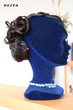 Haarmode von Ines Lang Dance Hair, Design, Hair Style, Schmuck, Hairstyle, Hairdos, Hair Styles, Down Hairstyles