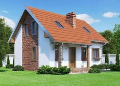proiecte de case intre 100 si 160 de mp House plans under 160 square meters 12 Square Meter, Building A New Home, New House Plans, Windows And Doors, Three Dimensional, Shed, New Homes, Floor Plans, Layout