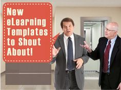 With over thirty new eLearning templates added to our library, you'll want to shout the news from the rooftops.