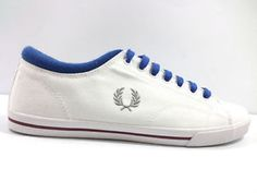 #FredPerry #sneakers #uomo #bianco #zooode