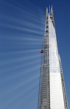An poster sized print, approx mm) (other products available) - Sunlight reflects off The Shard in London as construction continues on the building. - Image supplied by PA Images - poster sized print mm) made in the UK High Rise Building, Building Building, Building Materials, The Shard London, Bbc World Service, Fine Art Prints, Framed Prints, Renzo Piano, Architecture Design