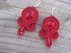 Ridgways / Simple Red...soutache