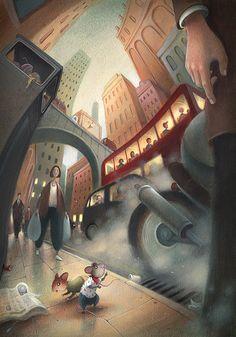 Illustration Portfolio by Richard Johnson