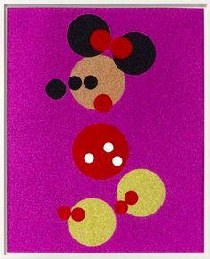 Damien Hirst  Minnie Mouse  Info@guyHepner.com www.guyhepner.com  #damienhirst #minniemouse