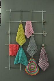 Koti männikössä: Virkattu tiskirätti jokapäivälle Koti, Needlework, Knit Crochet, Crochet Earrings, Weaving, Knitting, Handmade, Crafts, Diy