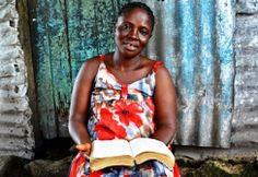 Donna guarita dall'Ebola - Liberia 28 Ottobre 2014