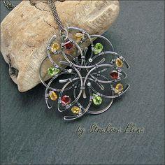 wirework pendant by Elena Strukova - such a talented artist!  -mk