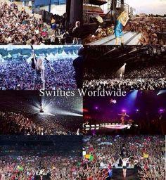 Swifties worldwide <3