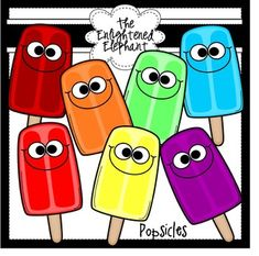 This packet includes 7 silly popsicles {including black and white images}; perfect for all of your popsicle and summer themed resources. Science Clipart, Math Clipart, Candy Bulletin Boards, Kindergarten Font, Cliparts Free, Digital Paper Freebie, Easel Activities, Valentines Day Clipart, Portfolio Covers