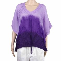 Indian Clothing Summer Tops For Women Rayon Tie And Dye Embroidered ShalinIndia, http://www.amazon.com/dp/B008P808RO/ref=cm_sw_r_pi_dp_7DJGqb0HKEWQS