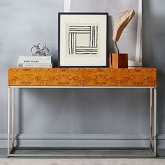 Burl Console #westelm $500 - on sale for $350 on 10/22/17!