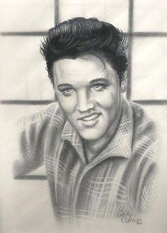 Elvis Presley by ~ericdeancoleman on deviantART