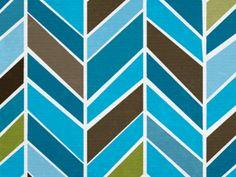 Chevron...cool colors!