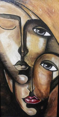 Cubist Art, Abstract Face Art, Modern Art Paintings, Art Pictures, Watercolor Art, Expressive Art, Pop Art, Art Drawings, Canvas Art