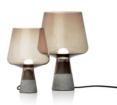 Leimu, a new lighting piece by young Norwegian-born designer, Magnus Pettersen for Iittala.  Source: http://www.dailyicon.net