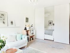 12 Ways to Create a 'Bedroom' in a Studio Apartment                                                                                                                                                                                 More