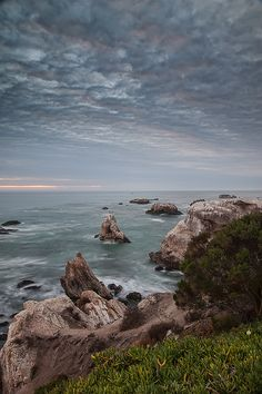 Shell Beach is the northern portion of Pismo Beach in Central California. Shell Beach Sunset | Flickr - Photo Sharing!