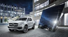 The Concept X-CLASS stylish explorer shows what will distinguish the pickup bearing the Mercedes star.