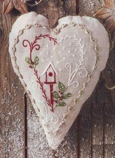Sachet Heart of Christmas - from Dots and Lines