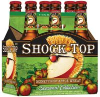 Need to try this! - Shock Top Honeycrisp Apple Wheat