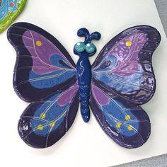 Butterfly Ceramic Art Sculpture