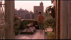 Green Card. 1990. Directed by Peter Weir. Gérard Depardieu, Andie MacDowell and Bebe Neuwirth. Really not a very good movie but I loved the apartment. Also Neuwirth was terrific.