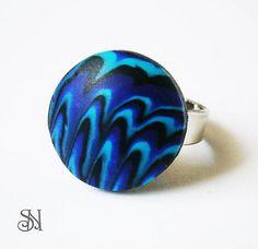 prsteň modelovaný z polymérovej hmoty, Šperky Salina a Natalyss