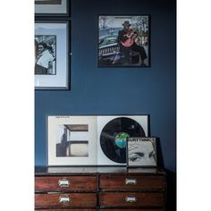 Pick of the week: Vinyl record frame to display your favorite record form some personalize home decor. This a lovely personalized gift idea- Thrifty Home