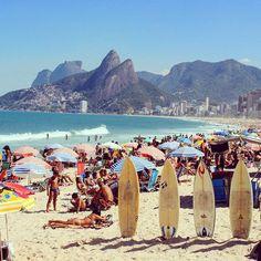 An Instagrammer's Guide to Rio de Janeiro: Ipanema Beach | Allure.com