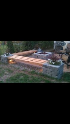 Out door seating Garden Ideas, Projects To Try, Doors, Outdoor Decor, Home Decor, Puertas, Interior Design, Home Interior Design, Home Decoration