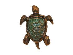 Susan Clarke Turtle  11/16 inch ( 17 mm )