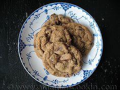 Chocolate Chip Espresso Cookies - Amanda's Cookin'